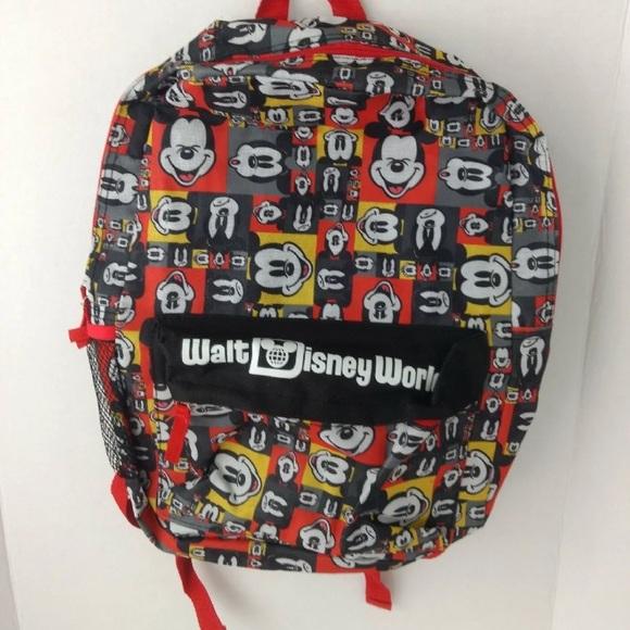 Disney Handbags - Walt Disney World Mickey Mouse Backpack POP ART